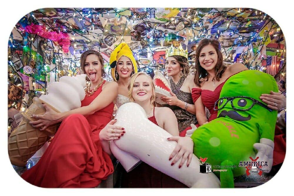 bridal party austin photobooth wedding rental