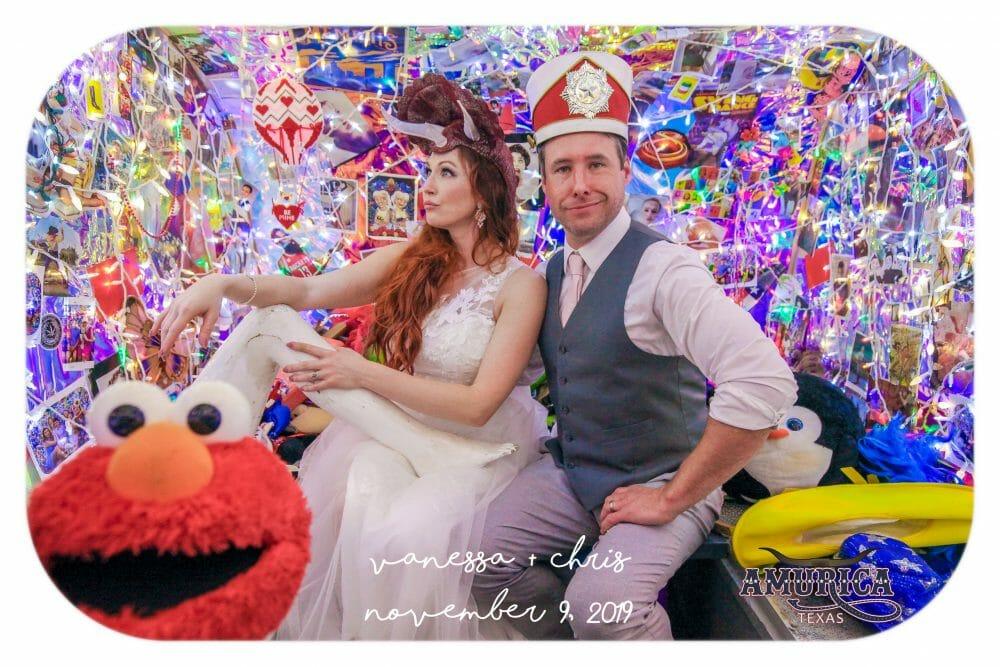 wedding photobooth rental bride and groom